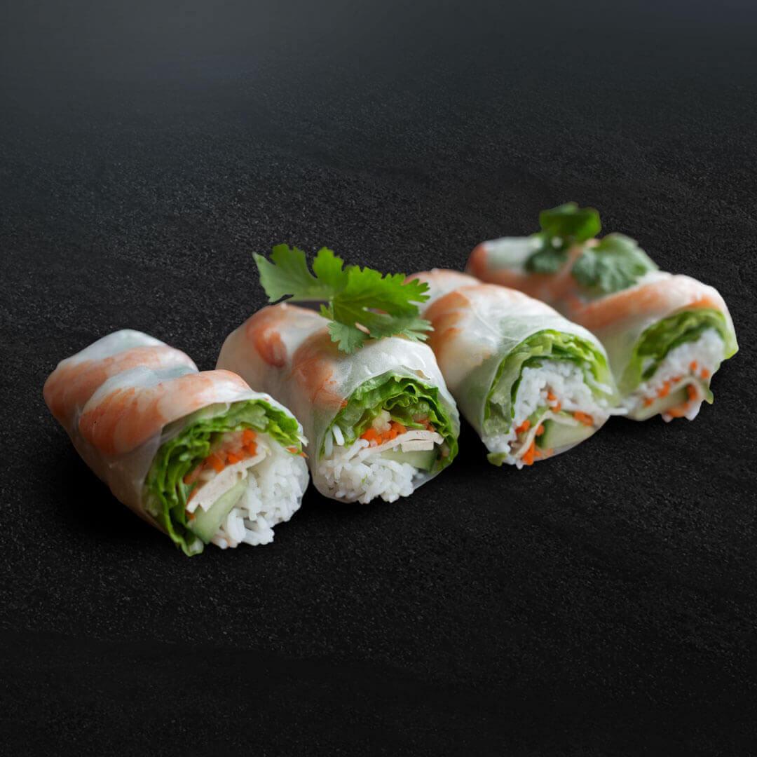 Vietnamese Shrimp Spring Rolls